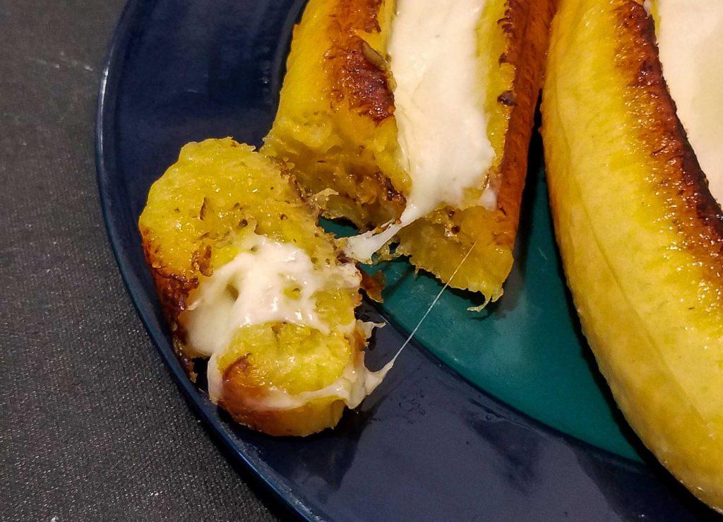 Platanos con queso