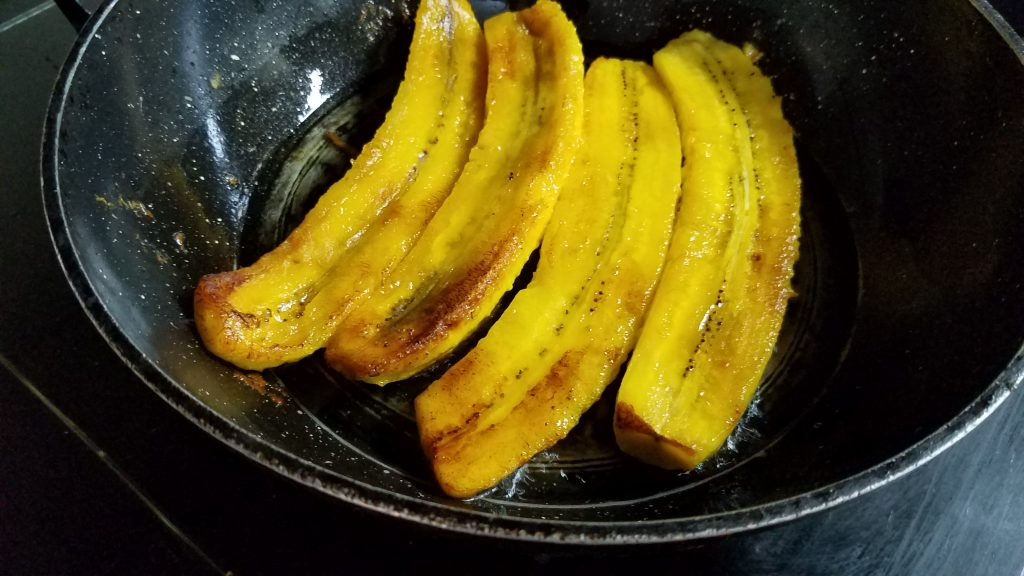 煎南美熟成大蕉 Fried Platano Maduro