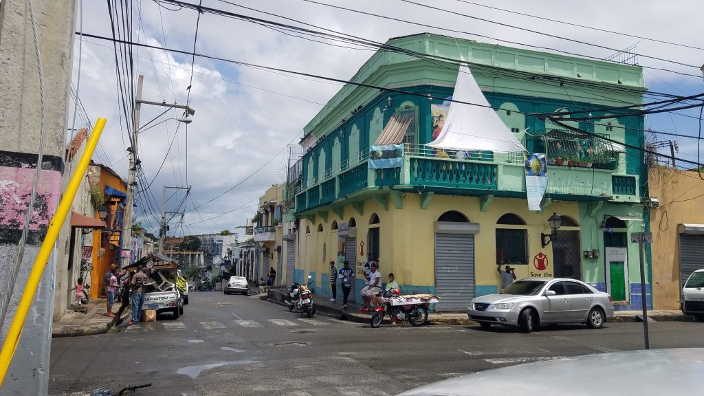Santo Domingo Dominican Republic Regular streets in Zona Colonial