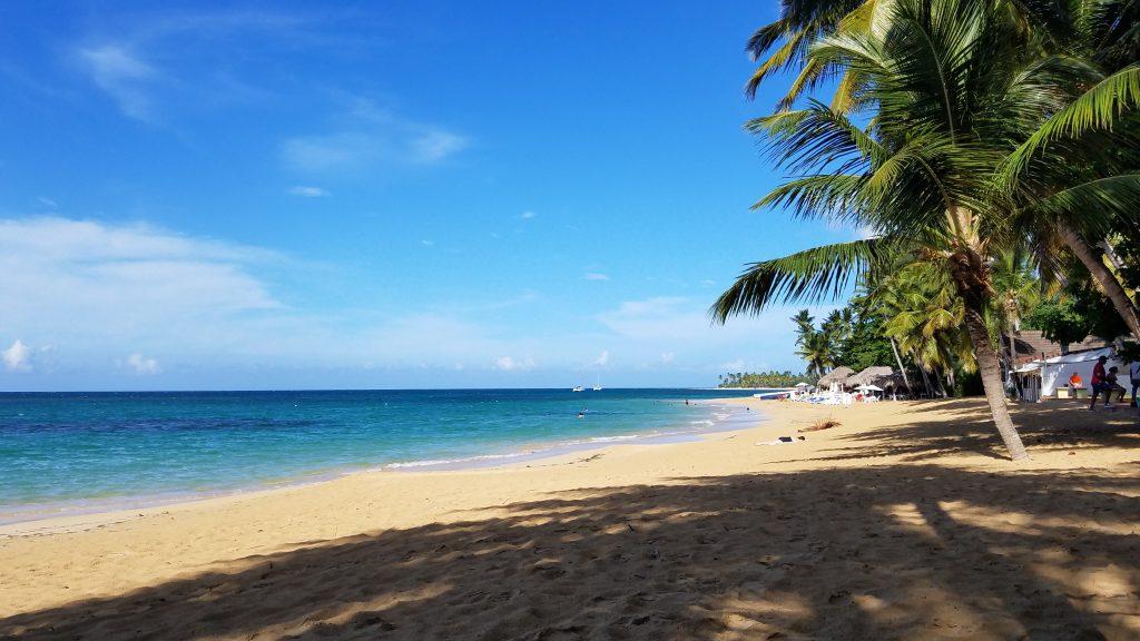 Playa Las Terrenas in Sanama in Dominican Republic 多明尼加共和國拉斯特雷納斯海灘