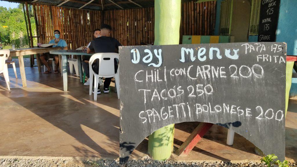 Grecie's Restaurant Comedor in Las Galeras, Samana, Dominican Republic
