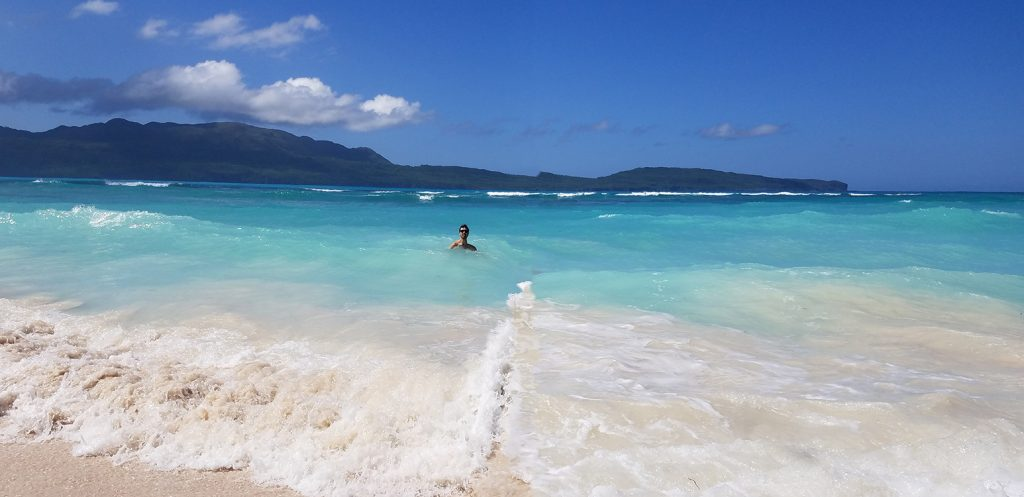 Playa La Playita in samana peninsula dominican republic 多明尼加共和國山美納半島百夷答海灘