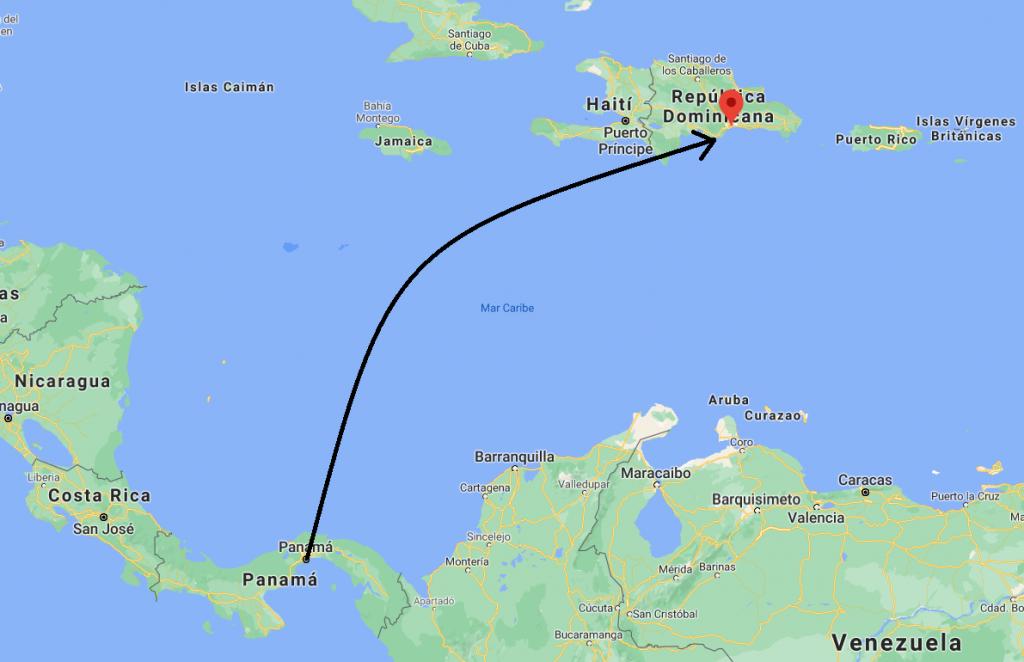 多明尼加共和國地圖 map