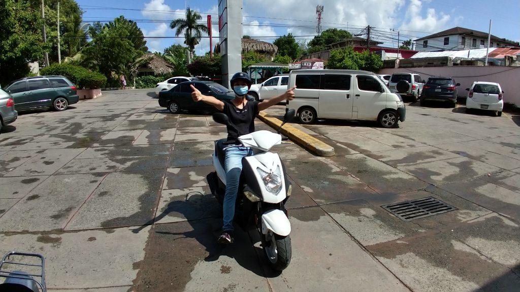 Scooter pasola trip from Las Terrenas to Las Galeras from our scooter pasola from Las Terrenas to Las Galeras 騎機車遊覽探訪多明尼加山美納半島
