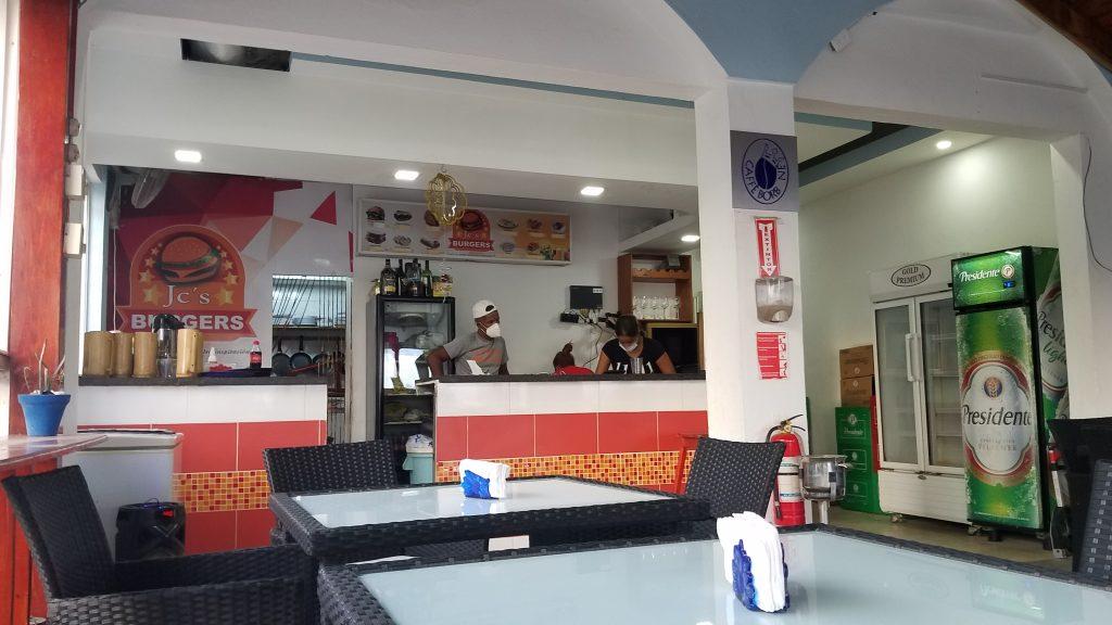 JC's Burger in Samana Dominican Republic