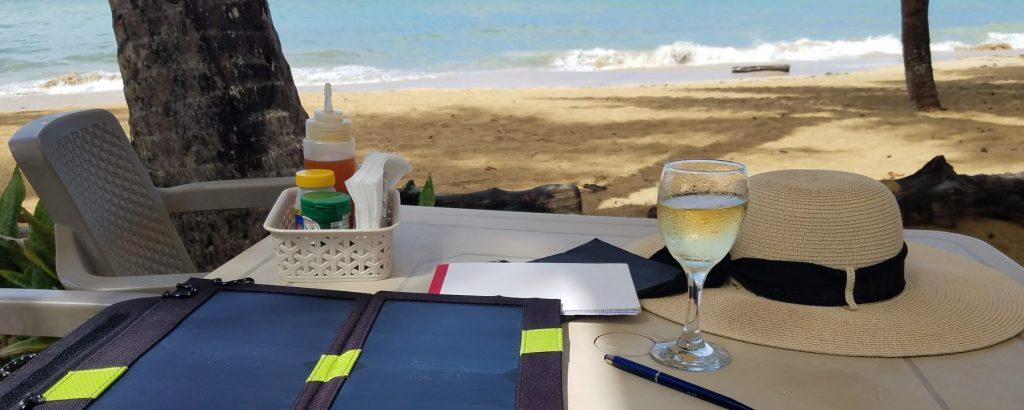 開始經營部落格多明尼加海邊Casa Azul