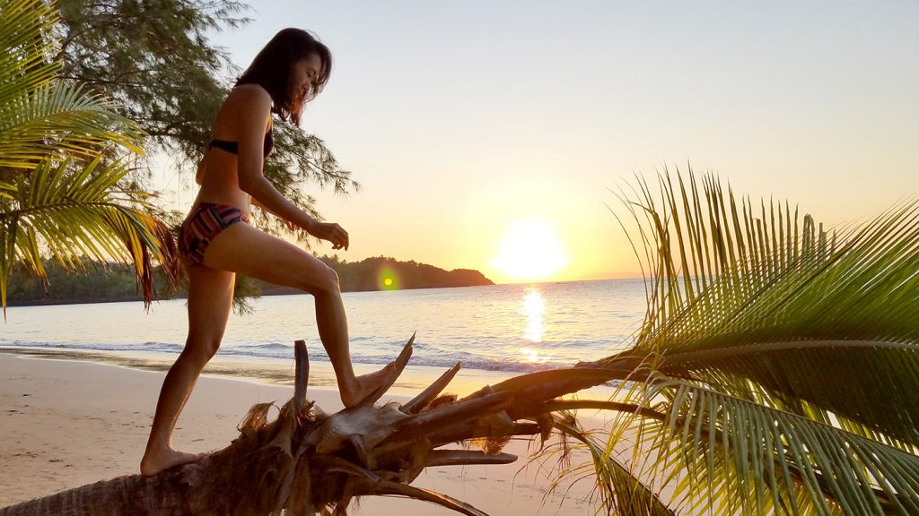 Playa Ballenas Samana Dominican Republic 多明尼加共和國山美納半島百椰娜海灘