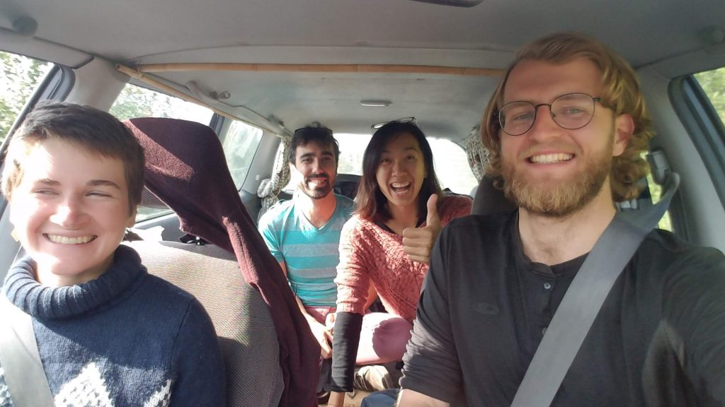 carpooling hitchhiking 共乘搭便車-經營部落格開端