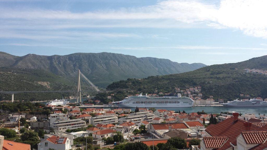 克羅埃西亞數位游牧簽證許可證 Cruise Ships Croatia