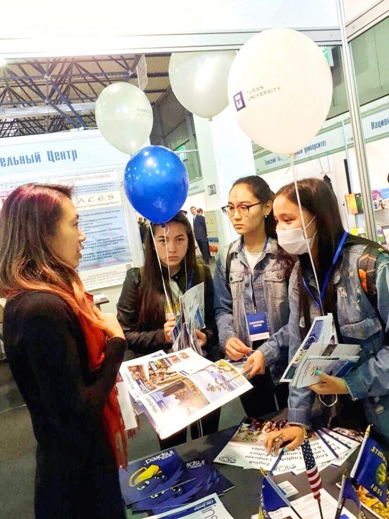 Kazakhstan Fair 國際行銷招生 business trip