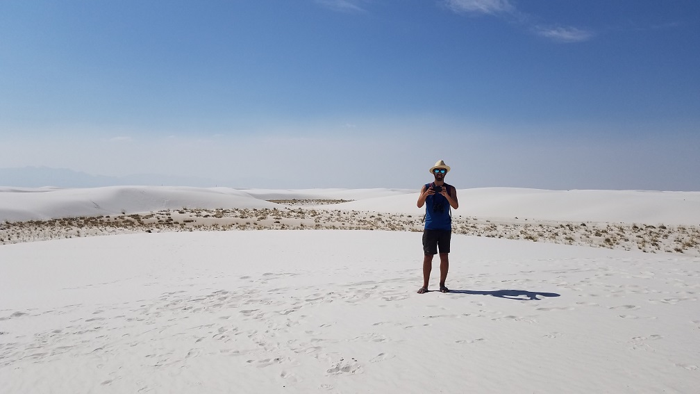 美國新墨西哥州白沙國家公園 White Sands National Park 美國公路自助旅行打卡景色旅遊部落格