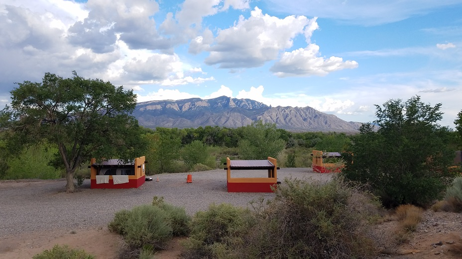 Coronado Historic Site State Park 新墨西哥州州立公園露營地數位遊牧邊工作邊公路旅行