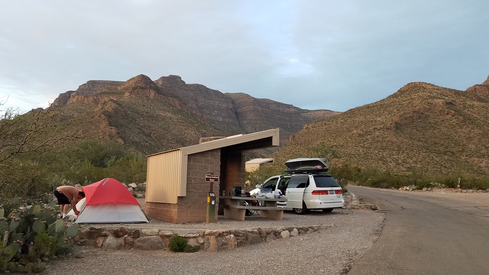 Oliver Lee Memorial State Park 州立公園露營地數位遊牧邊工作邊公路旅行