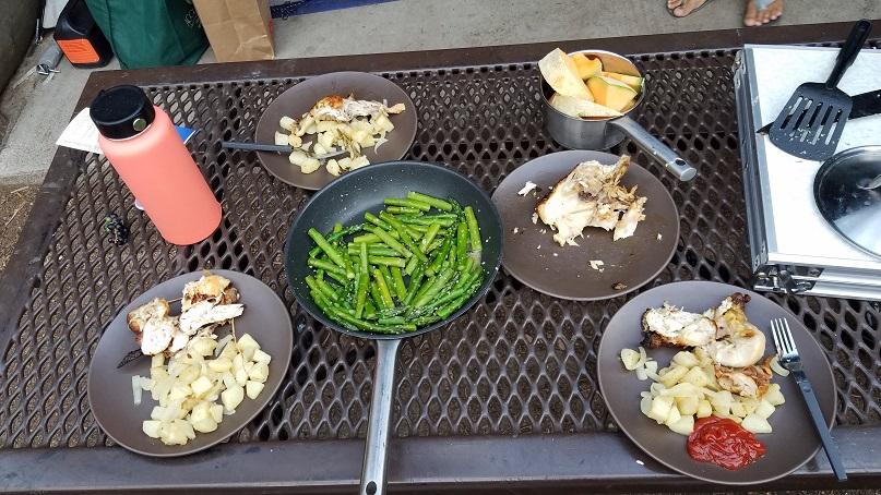 數位遊牧生活邊公路旅行露營邊工作三餐野炊食物規劃
