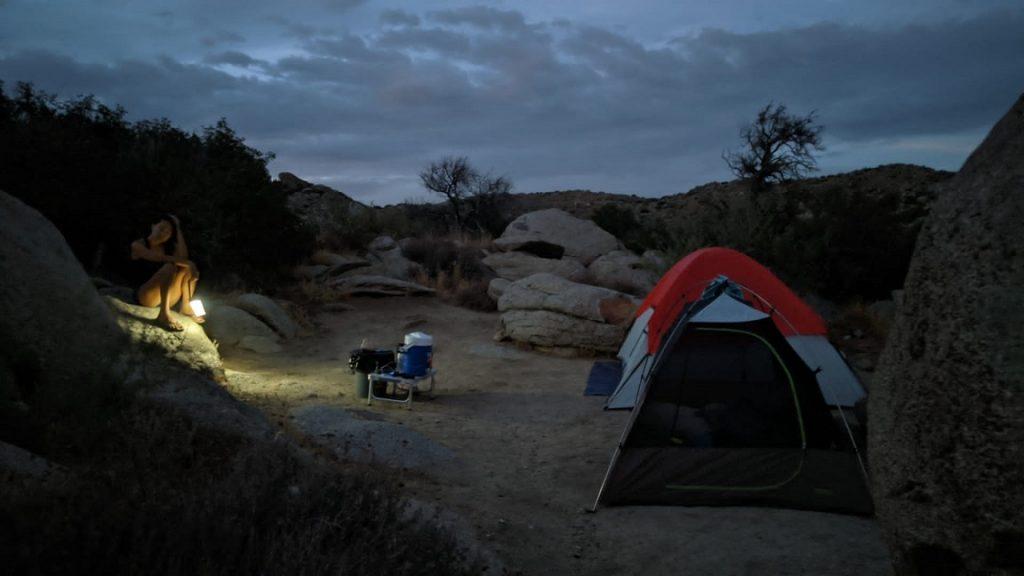 Anza Borrego campground 數位遊牧邊工作邊公路旅行露營
