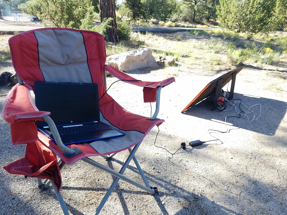 Oliver Le數位遊牧邊工作邊公路旅行露營